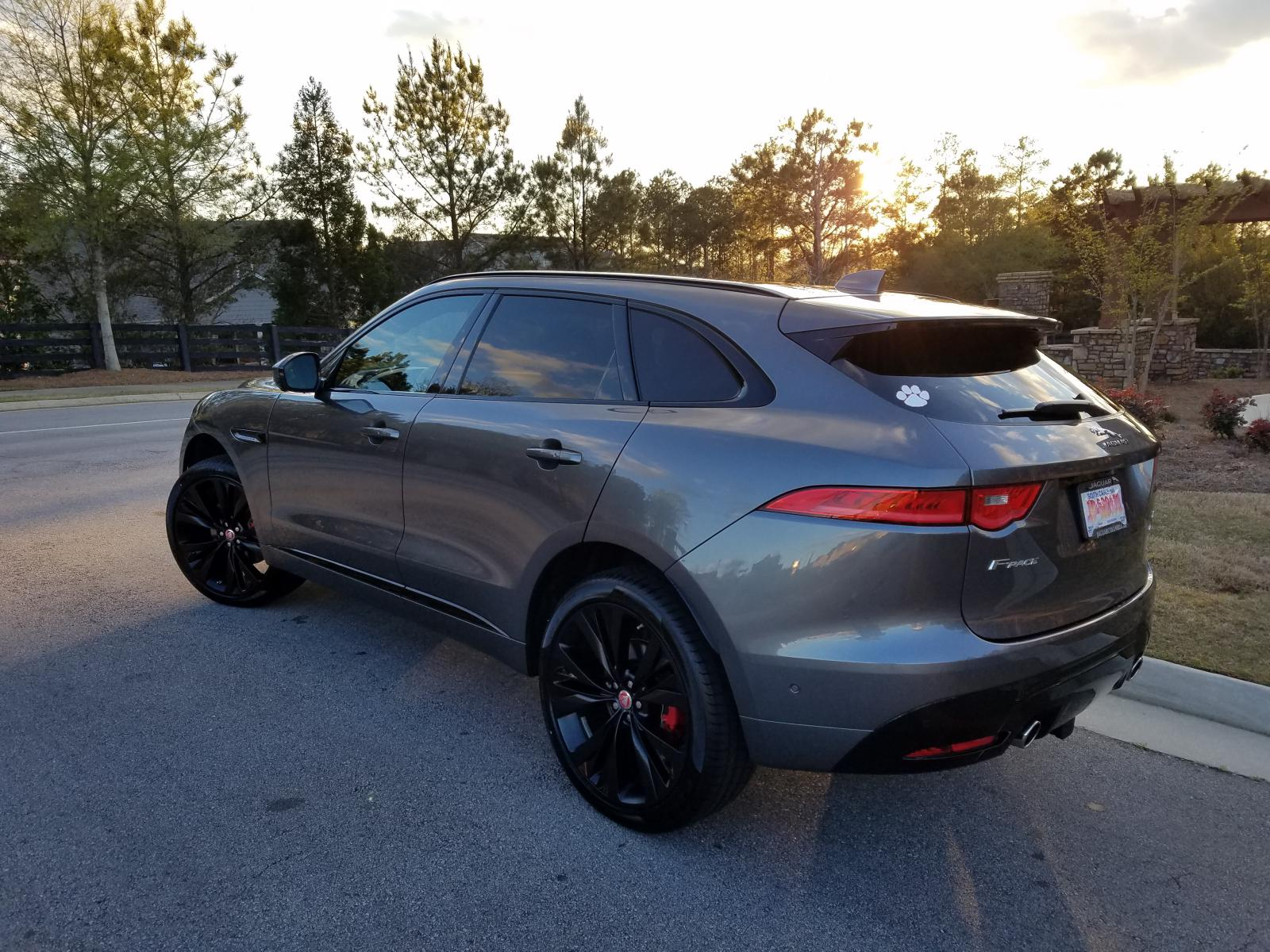F Pace Tow Hitch