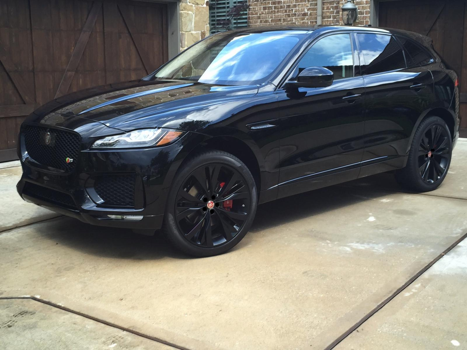 All Black S Joins Her Brother Jaguar F Pace Forum